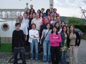 Raquel Chaves, colleagues and students at UTAD, Vila Real, Portugal