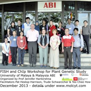 Participants in the UM-ABI FISH and ChIp Workshop (click for high resolution)