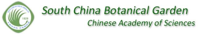 South China Botanical Garden, Chinese Academy of Sciences (SCBG, CAS)